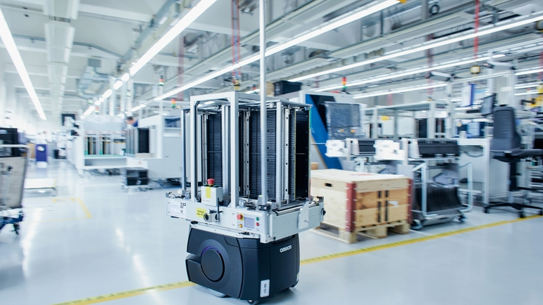 Digitalization has long since found its way into Endress+Hauser's manufacturing sites.